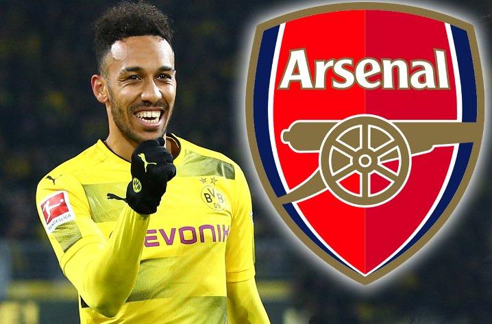 «Арсенал» предложил дортмундской «Боруссии» €50 млн зафутболиста Обамеянга