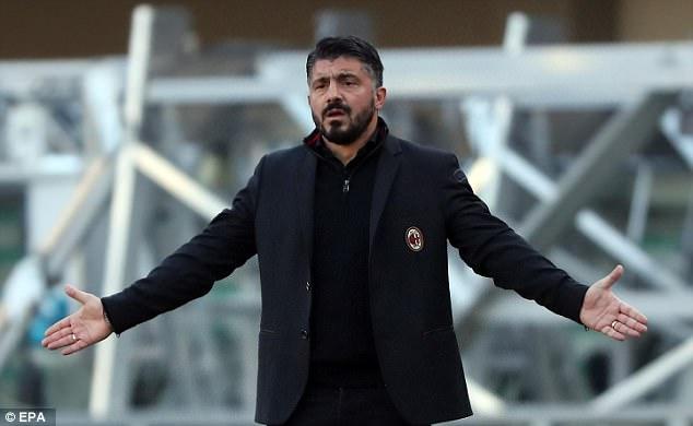Гаттузо хотел уволиться из«Милана» после разгрома от«Вероны»