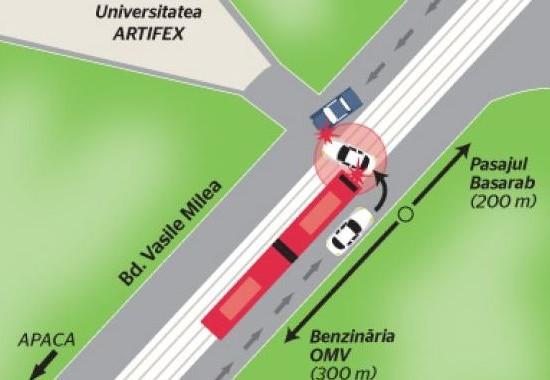 Схема ДТП с участием Мирчи