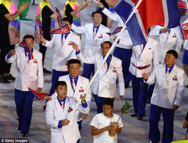 Спортсмены изКНДР выступят наОлимпиаде вПхенчхане вчетырех видах спорта