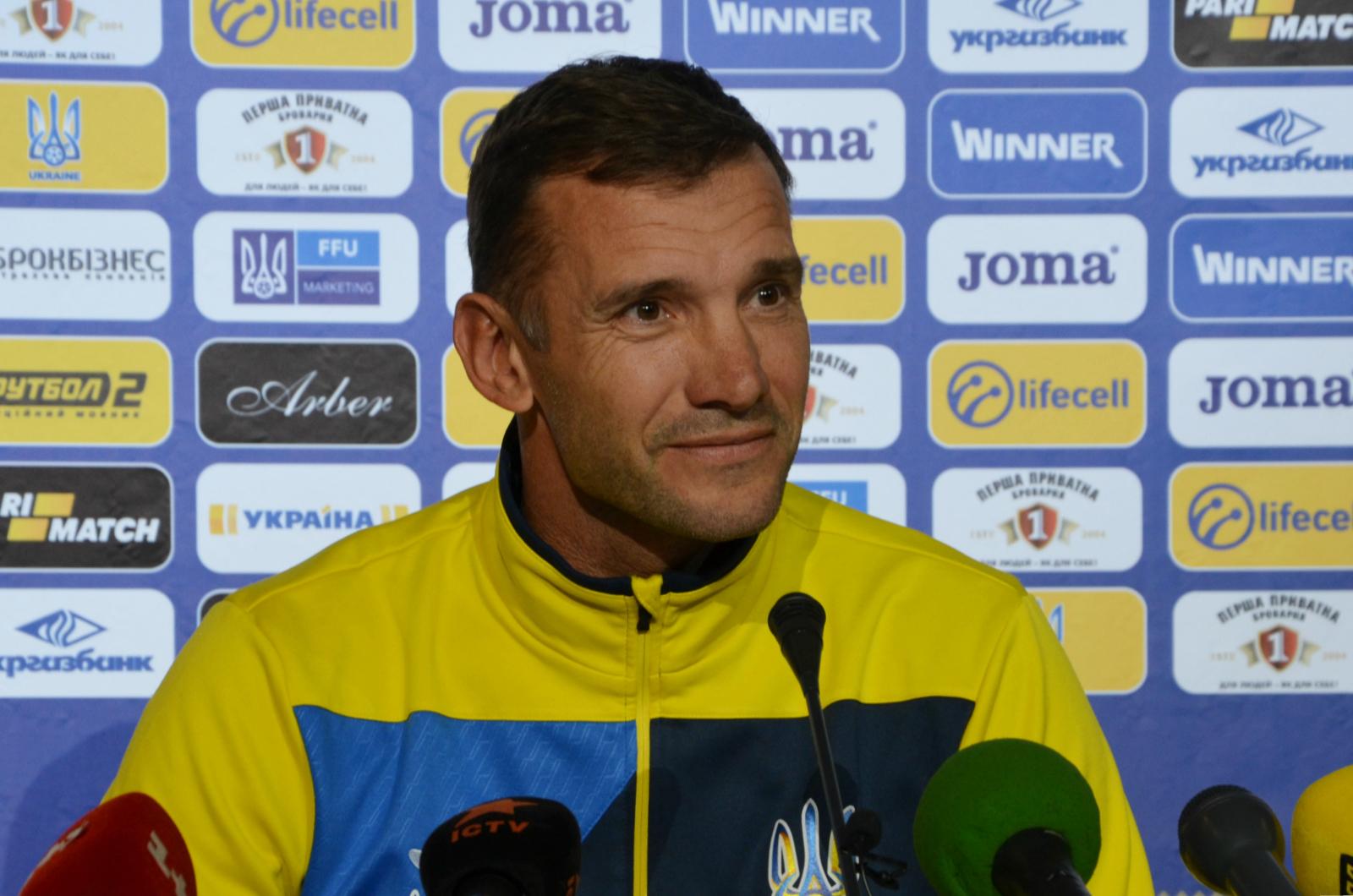 Шевченко: не все молодые игроки не готовы играть за сборную