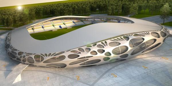 Проект стадиона БАТЭ