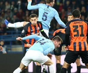 Шахтер не смог удержать Манчестер Сити: смотреть голы