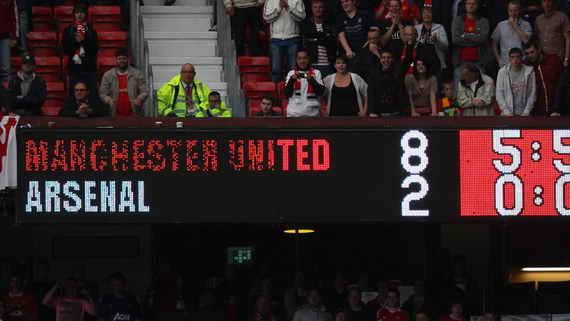 Манчестер юнайтед лучшие матчи за всю историю